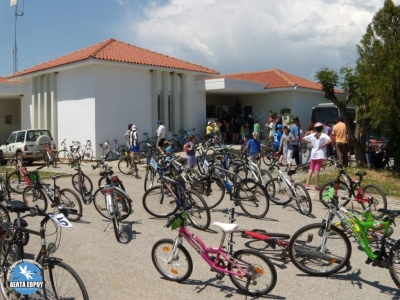 The Traianoupolis Cycling Tour in Evros Delta Visitor Centre