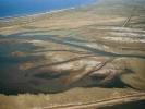 Η εκβολή του χείμαρρου Λουτρού στη λιμνοθάλασσα Λακκί /  The mouth of Loutros torrent in Lakki lagoon (A. Athanasiadis)